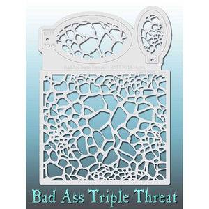 Bad Ass Triple Threat Stencil - Hydra 7015