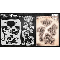 Tattoo Pro Series 5 Stencils - Filigree & Flair