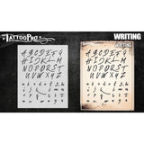 Tattoo Pro Font Stencils - Writing