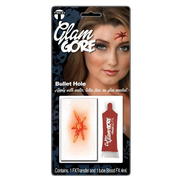 Tinsley Medium Glam Gore 3D Transfer Kit - Bullet Hole