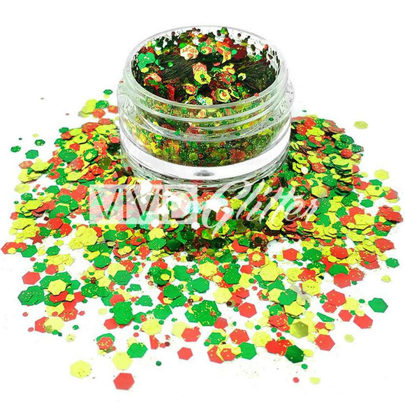 VIVID Glitter Christmas Miracle Chunky Glitter Mix (10 gm)