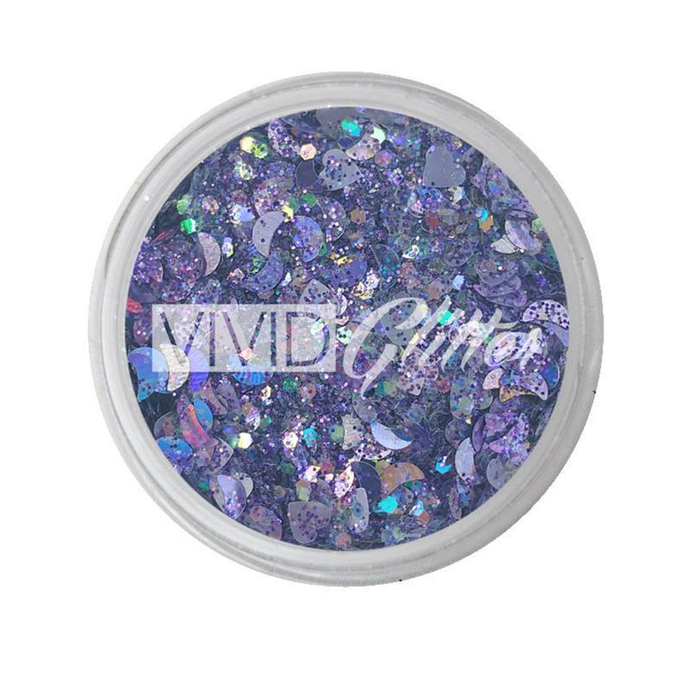 VIVID Glitter Purpose Chunky Glitter Mix (10 gm)