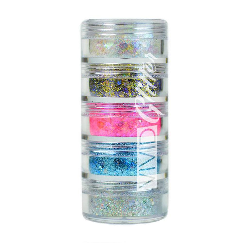 VIVID Glitter Purity Chunky Mix Stack
