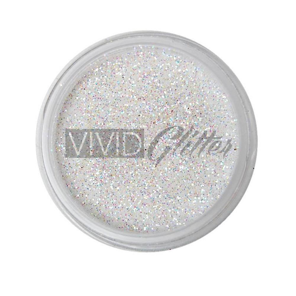 VIVID Glitter White Hologram Glitter Stackable (10 gm)