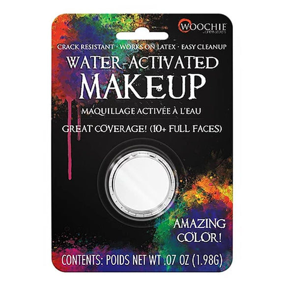 Woochie Water Activated Makeup - White (0.07 oz/1.98 gm)