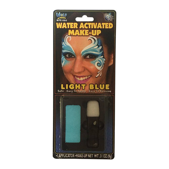 Wolfe FX Face Paint w/ Applicator - Essential Lt Blue ( 9g)