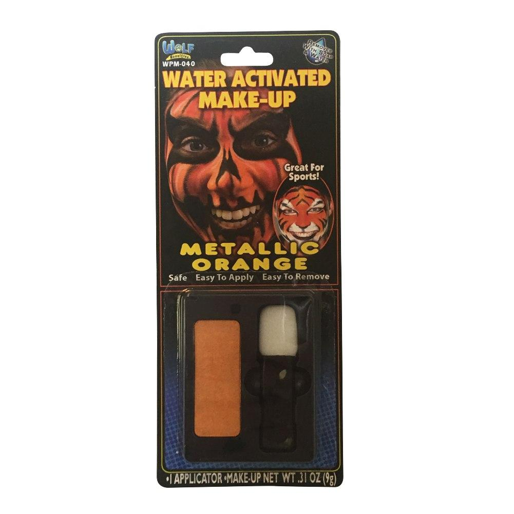 Wolfe FX Face Paint w/ Applicator - Metallic Orange ( 9g)