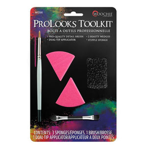 Woochie ProLooks Tookit (Brushes & Sponges)