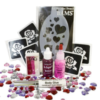 Valentine's Day Bling Face Painting Kit