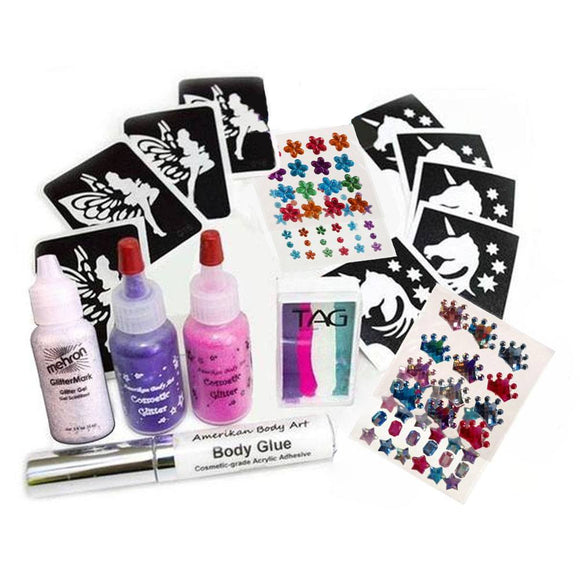 Princess Bling Face Painting Kit