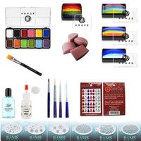 Facepaint.com Ultimate Professional Kit