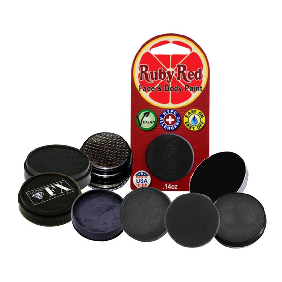 Face Paint Sampler Pack - Black Refills (Set of 9)