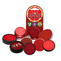 Face Paint Sampler Pack - Red Refills (Set of 9)