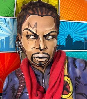 Pop Art Man (Bishop) Makeup Video by zuri Fx