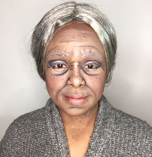 Stages of Life: Old Age Makeup Video by zuri Fx