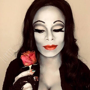 Sexy Morticia Addams Makeup Video by zuri Fx