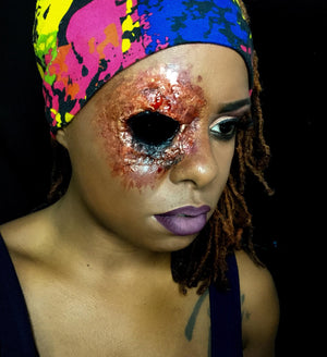 Bloody Eye Wound Video by Zuri FX