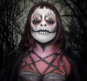 Dark Goth Gal Makeup Video by zuri Fx