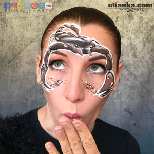Arachnids - Scorpion Face Paint by Ulianka