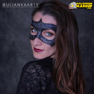 Lace Mask Face Paint by Ulianka