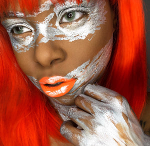 Abstract Metallic Beauty Makeup Video by Zuri Fx