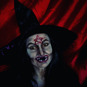 Scary Witch Halloween Makeup With SFX