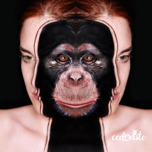 Monkey Mirrored Look by Ana Cedoviste