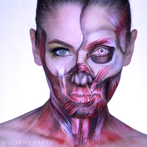 Anatomy: Inside Out Makeup Video by Ulianka