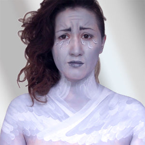 Crying Angel Body Paint Video by PTBarpun
