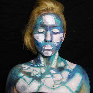 Around the World - Arctic Painting Themed Body Paint by PTBarpun