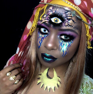 Gypsy Special FX Makeup Video by zuri Fx