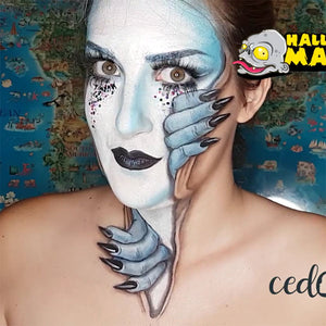 'Daydream' Face Paint Illusion by Ana Cedoviste