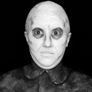 The Addams Family: Uncle Fester Body Paint Video by PTBarpun