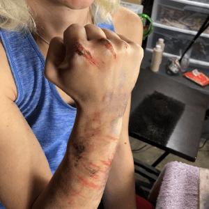How to Create Bruises with Alcohol-Activated Makeup (Part 2) by Church Haley