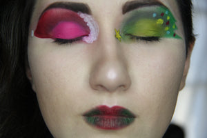 Christmas Eye Makeup by PTBarpun