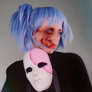 Sally Face Makeup Tutorial Video by Grimm