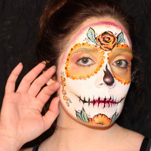 Easy Sugar Skull Tutorial