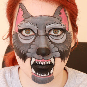 Werewolf Face Design by Ana Cedoviste