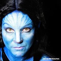Avatar Inspired Makeup
