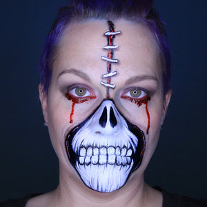 Halloween Skull Face Paint