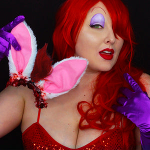 Dark Disney Jessica Rabbit Makeup Tutorial by Bengalqueen
