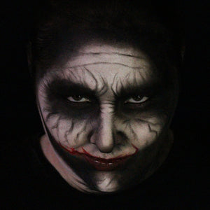Easy Modern Joker Face Paint Tutorial by Bengalqueen