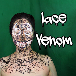 Lace Venom Makeup Video by PTBarpun