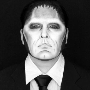 The Addams Family: Lurch Makeup by Bengal Queen