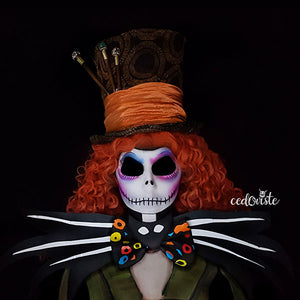 Mad Hatter Jack Skellington Mashup by Ana Cedoviste: 31 Days of Halloween