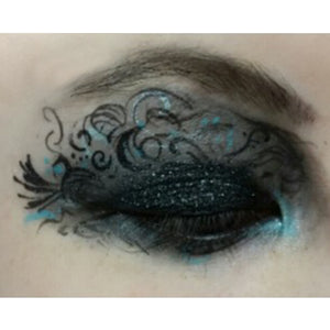 Maleficent Inspired Eye Design