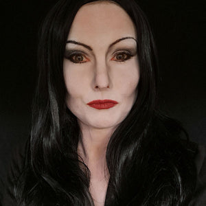Morticia Addams Make-up Tutorial by Caroline Healy