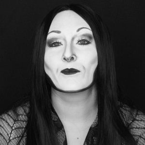 The Addams Family: Morticia Body Paint by Bengal Queen