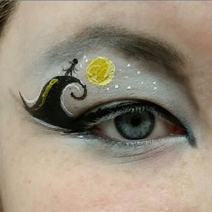 Nightmare Before Christmas Inspired Eye Design