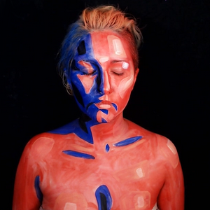 Video: Vibrant Shadows Body Paint by PTBarpun